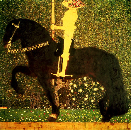 Gustav Klimt - The Golden Knight