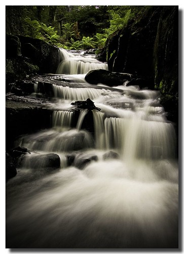 Lumsdale Waterfall 1