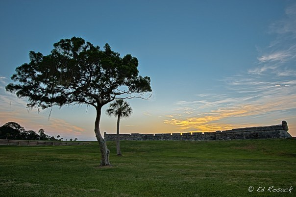 Sunrise at Castillo de San Marcos #4
