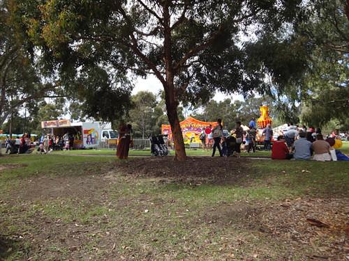 Norton Street Italian Festa: Kids' playground