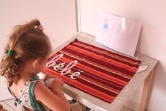 """Montessori en famille, langage, le son """"é..."""