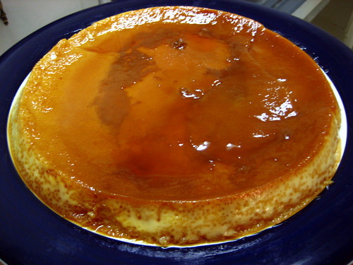 a successful flan!