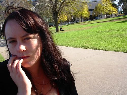 Me, in Batman Park