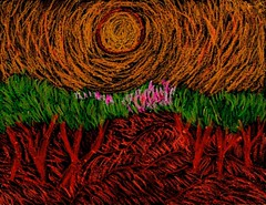 Encaustic orchard