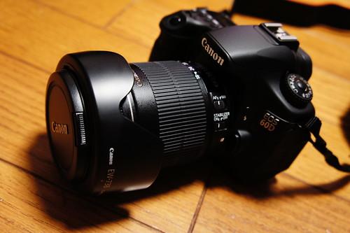 Canon EOS 60D 合体!