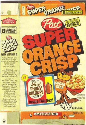 Super Orange Crisp