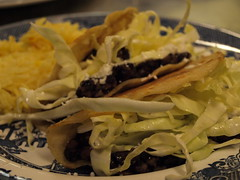 Black Bean and Goat Cheese Tacos