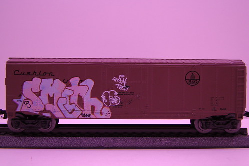 Maisto Enamelized Graffiti Trains