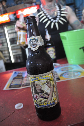Albino Python Coney Island Beer