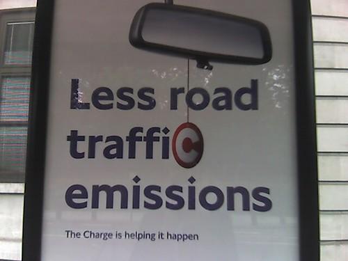 Less road traffic emissions