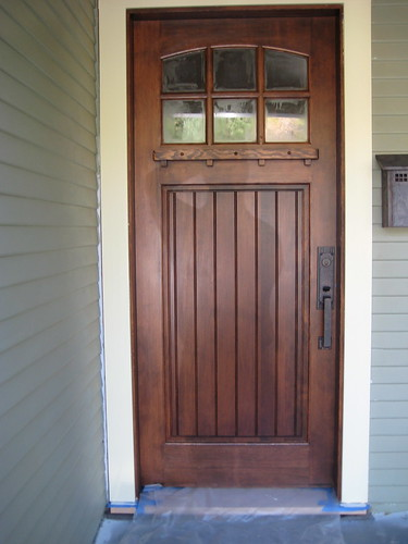 Douglas Fir Front Door