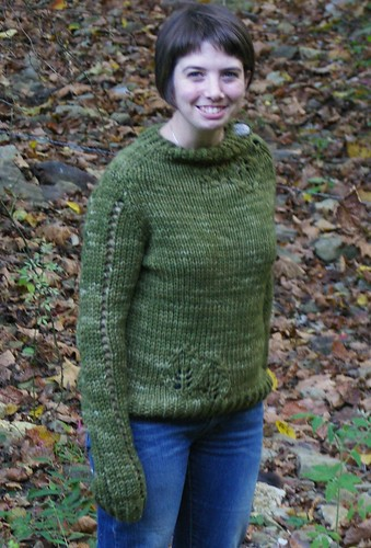 lace leaf pullover bad model 1