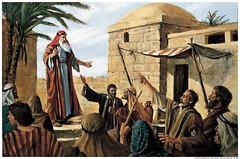 Lehi Prophesy Jerusalem Mormon
