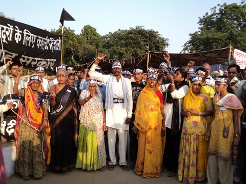 Pics from the satyagraha - 5 Nov 2010 - 14