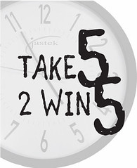 Take 5 to win five