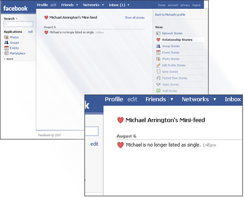 Arrington on Facebook