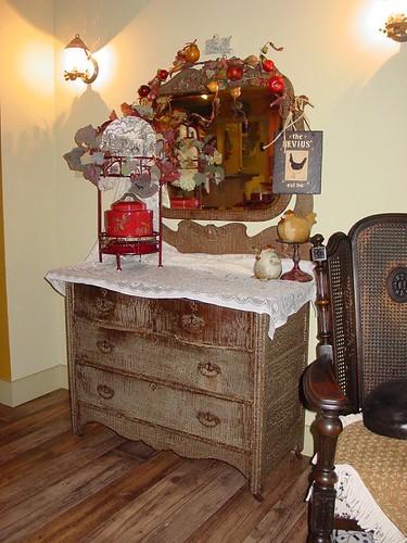 Antiques Dresser Vignette