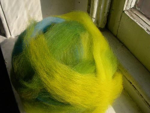 pre-drafted wool