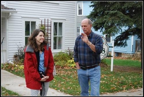 Melissa Wiley and Bob Brown