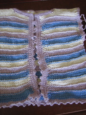 'Melia's sweater