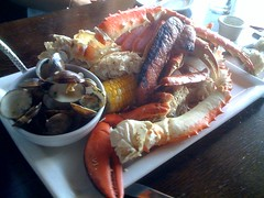 The clam bake at Gladstones