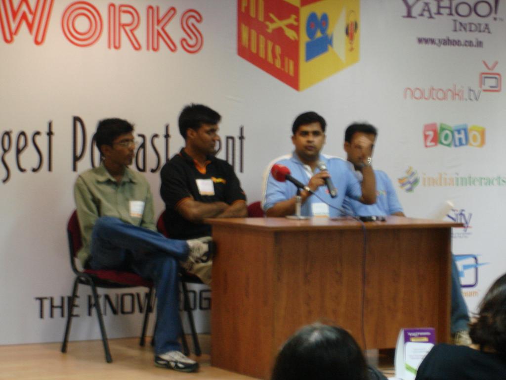NDTV press conference