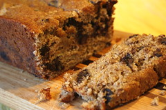 Cinn-Choc Chip Banana Bread 1