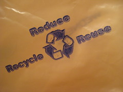Reduce --> Reuse --> Recycle