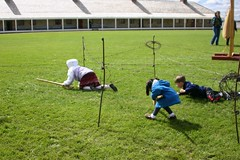 Obstacle Course at Fort Snelling