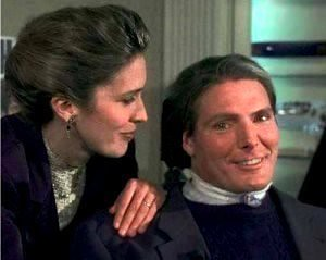 Danna Reeve and Christopher Reeve