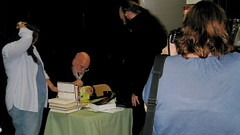 Terry Pratchett Signing