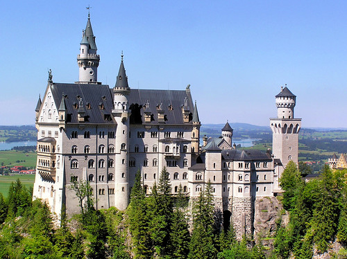 King Ludwig's Neuschwanstein Castle in Bavaria