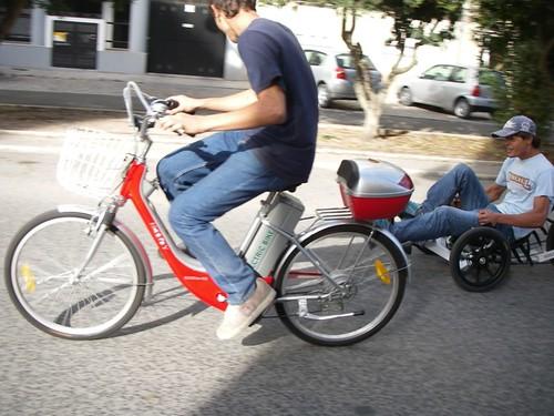 E-bike vs. KMX Kart: a race!