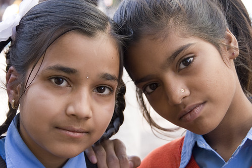 School girls, Udaipur