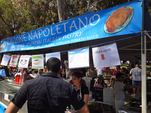 Norton Street Italian Festa: Calzone Napoletano