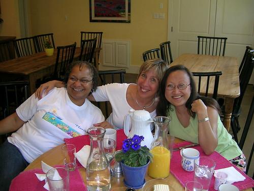 Maureen, Betty, Barbara