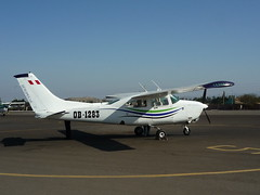 Unsere Cessna in Nasca