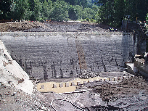 Marmot Dam: not long for this world