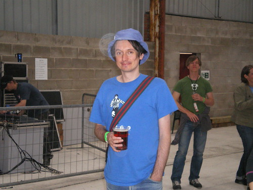 Me at Indietracks in 2007. I know, I haven't changed a bit