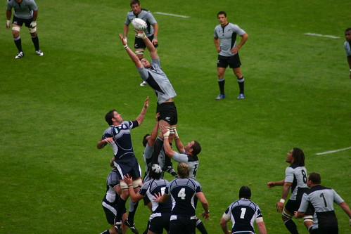 All Blacks throw in