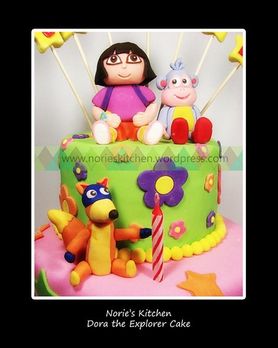 Norie's Kitchen - Dora the Explorer Character Cake