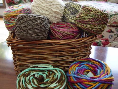 Yarn Cakes 1