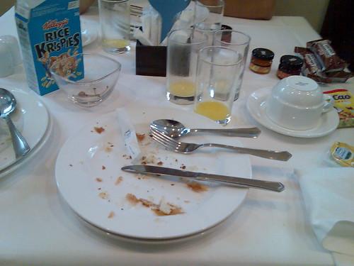 Desayuno de los campeones