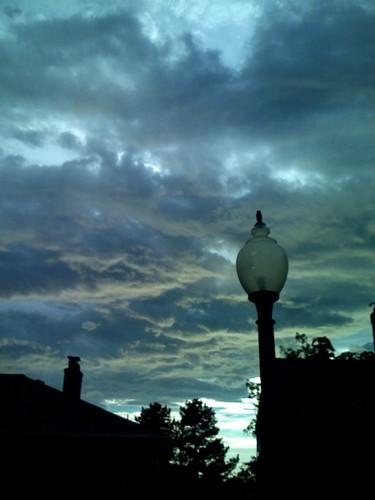 Sunset a Lot