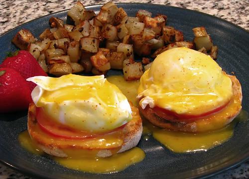 Cave's Eggs Benedict