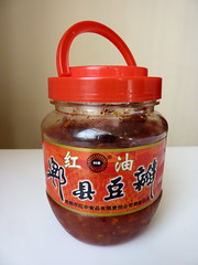 Red oil chili bean sauce