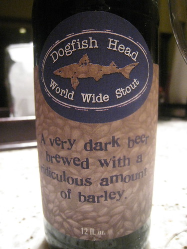 Dogfish Head's World Wide Stout