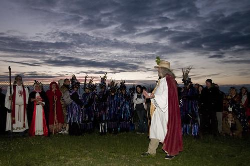 Stonehenge Summer Solstice 2010 - Druid Ceremony