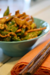 Snap Pea, Carrot, and Cashew Salad