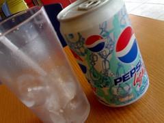Hmmm Pepsi Light!